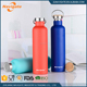 Promotional Top Quality Camping Stainless Steel Vacuum Water Bottles With Bamboo lid