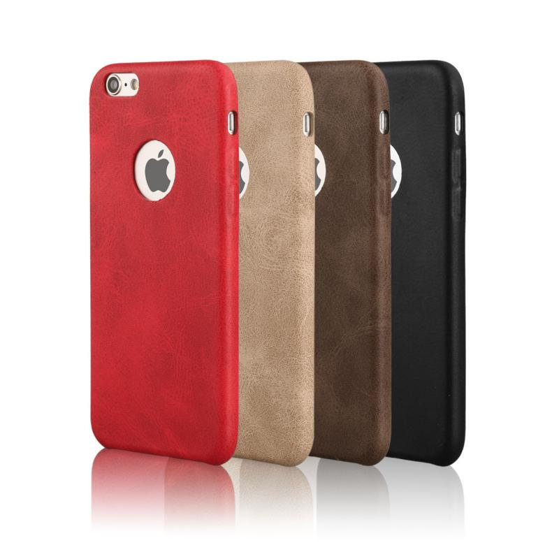 Luxury Deluxe PU Leather for iphone 7 Case; Hard Back Case for iphone 7 Leather Cover