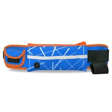 Unisex Gender Zipper Pockets Sport hydration Running Belt Waist Pack Bags Running Belt with Bottle Holder