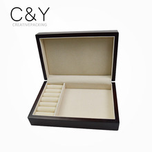 High Quality Custom Wood Jewelry Ring Storage Box