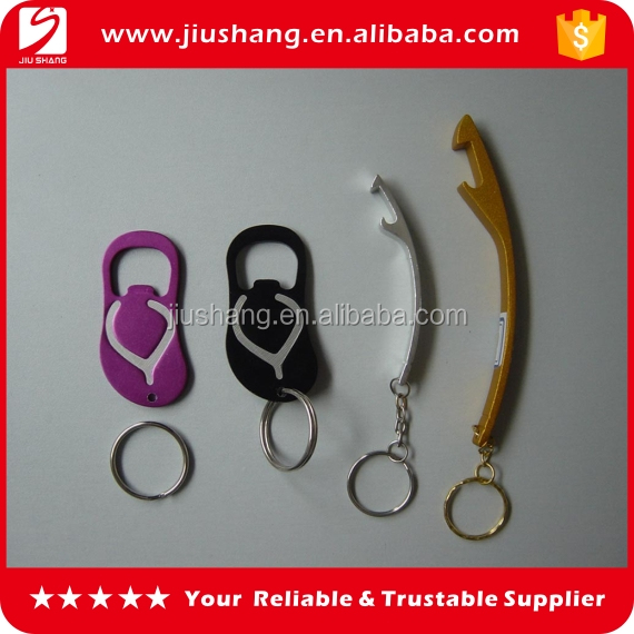Wholesale mini jar and bottle opener keychain for promotional gift