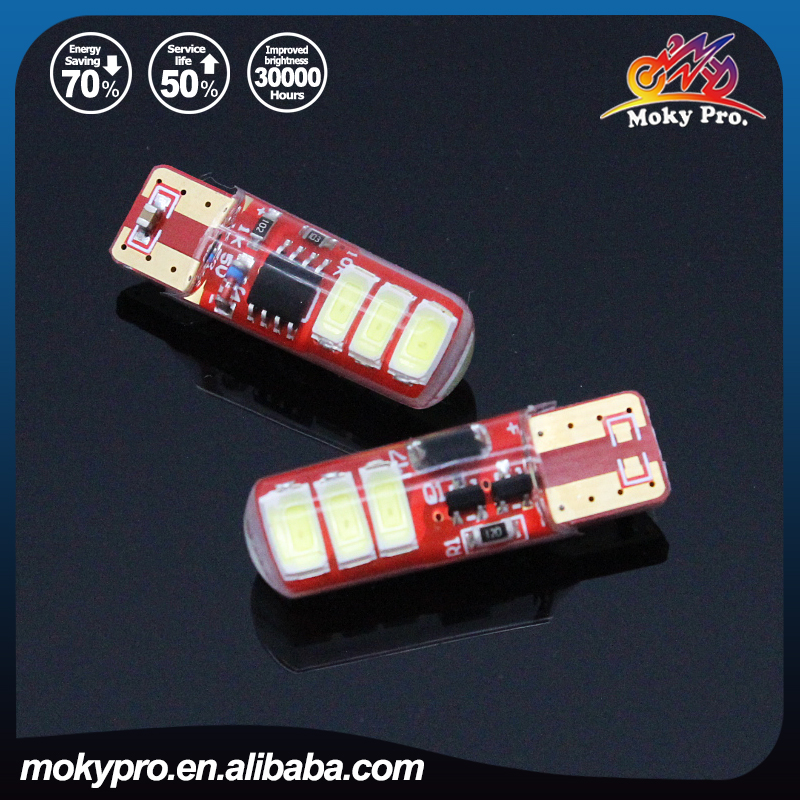 T10 reading light 5730 2sides 6SMD flash high bright for motorcycle and <strong>auto</strong>