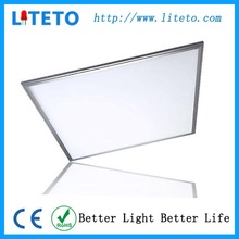 Shenzhen led lighting no flicker cool white dimmable cri90 600x600 square led panel lamp