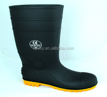 PVC BOOTS MAN STEEL CAP BOOTS men safety boots