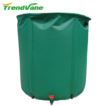 amazon hot selling collapsible pvc rain water barrel irrigation system drip come in different sizes and colors