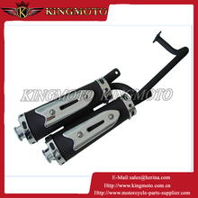 pit bike parts, muffler 250cc for KM001
