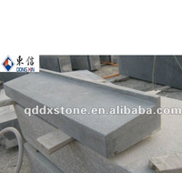 honed blue limestone window sill