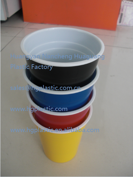 Double Wall Plastic Tumbler ,16OZ/450ML