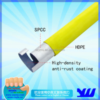 JY-4000YH-P|PE coated lean steel Pipe|Stainless rubber lean tube|Lean pipe for logistic coated pipe