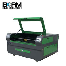 BCJ6090 High accuracy stainless steel laser engraving/cutting machine with rotation RECI laser tube