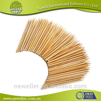 2014 Hot Selling high quality thick food bamboo sticks new style beaded braid decorative bamboo sticks