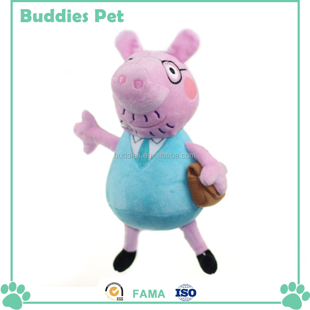 Cartoon Peppa Image Family Of Pigs Kids Plush Toy