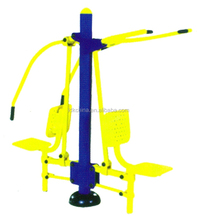 Pull Down and Chest Press outdoor fitness equipment for adults Outdoor Gym Equipment Manufacture