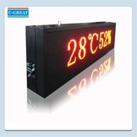 Led store optical fiber advertisement sign
