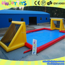 fantastic inflatable soap soccer field on hot sale