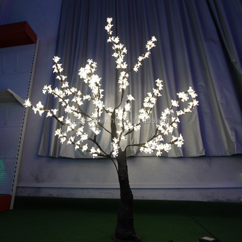 1.2m Table Top Decoration Christmas LED Flower Cherry Blossom Tree Light