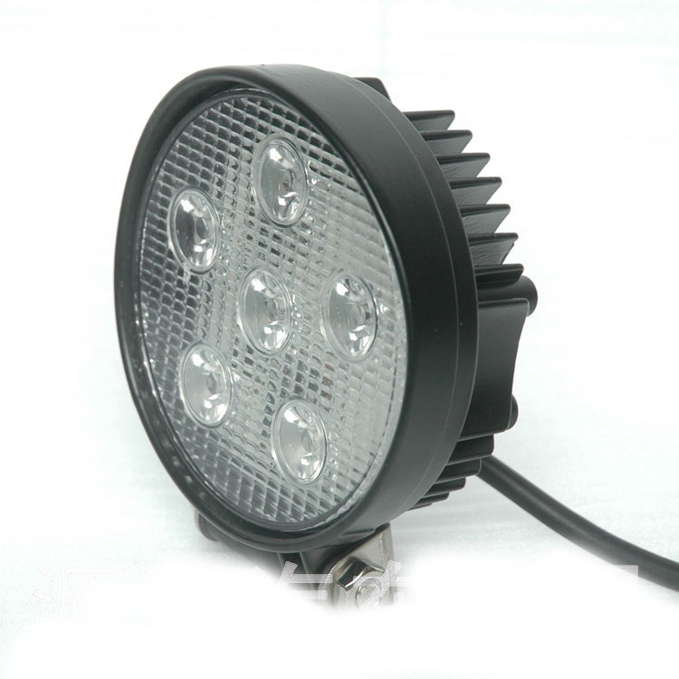 Auto Spare Parts YC-007 18W led work light,led offroad light for SUV ATV Jeep Truck Light