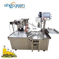 High Accurate Automatic Olive Oil Filling