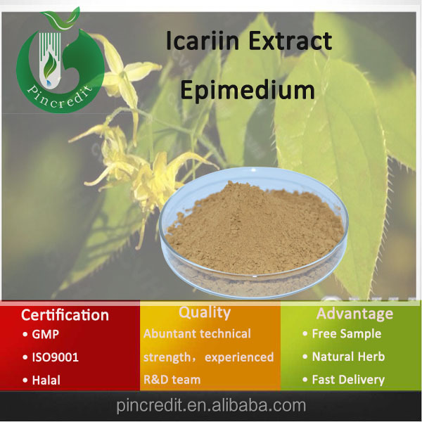 Herbal Epimedium Extraction/Natural Epimedium Extract Icariin/Epimedium Leaf Extract Powder
