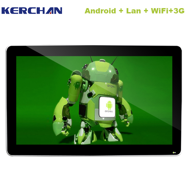 Kerchan new 10inch POE supported android tablet PC with exclusive plastic case