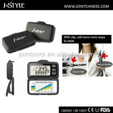 J-Style Large LCD Display, Six Activity Data Counting Promotional Step Counter