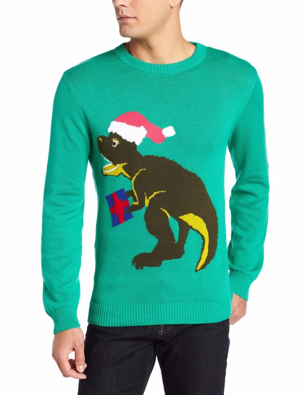 Men Light Green Sweater Hat