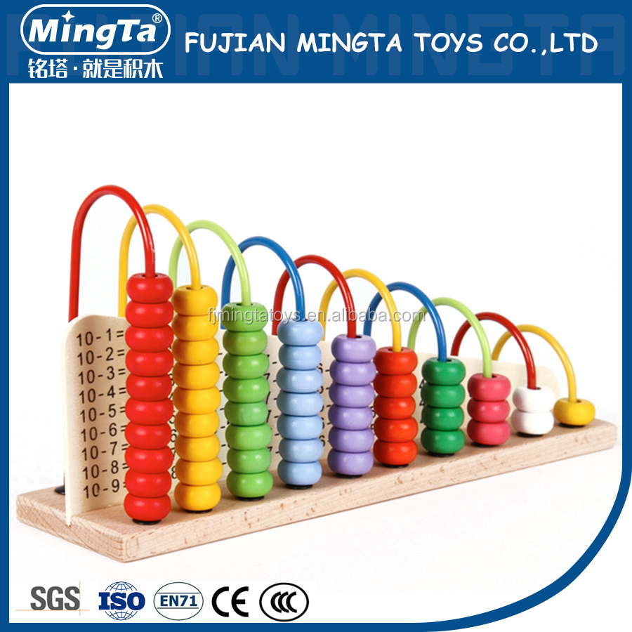 High Quality Wooden Soroban Abacus toy