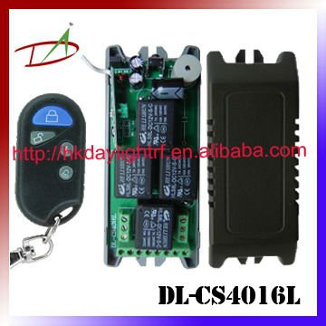 4 channel safety case design rf transmitter receiver circuit