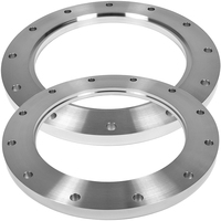 Ansi standard drawing spectacle toilet sorf stainless steel flange