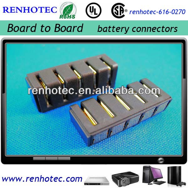 5.0mm pitch laptop battery connector female type battery connector