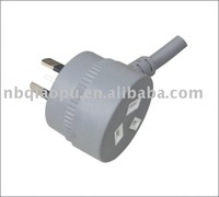 Heavy duty Piggyback SAA power cord /AC power plug/Australia SAA power cord