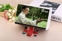 Hot Newest Mobile Phone Screen Magnifier Bracket 3 Times Enlarge stand for Smartphone Portable for Use Video enlarge eye treasur