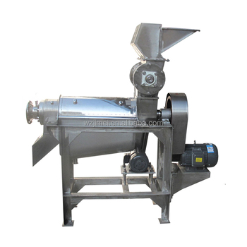 High quality industrial cold press fruit and vegetable juicer extractor machine