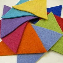 China supplier needle punched polyester fabric hard felt