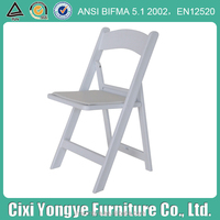 China wholesale modern resin folding chair