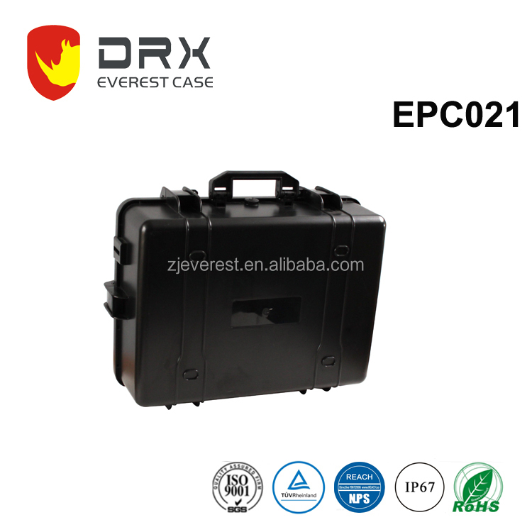 EPC021 Ningbo Wholesale factory plastic big hard case waterproof military case plastic carrying hard case