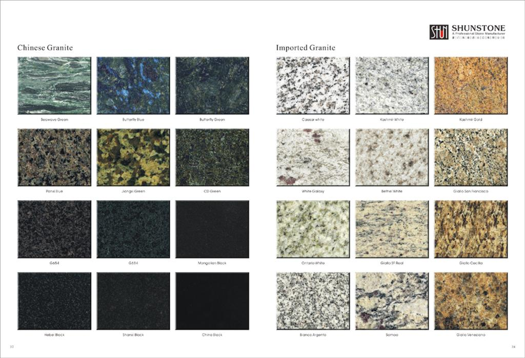 Floor And Wall Granite TileFull Polished Granite Tile