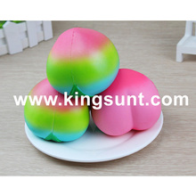 2017 new model squishy juicy peach kawaii jumbo squeeze toy for kids Chrismas birthday gifts