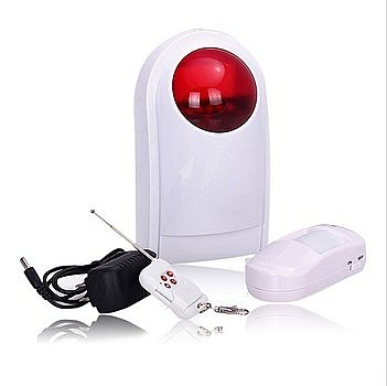 2015 New designs solar power house alarm siren for mini alarm system