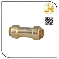 CW617n BSP threaded equal coupling pex pipe 16MM brass fitting
