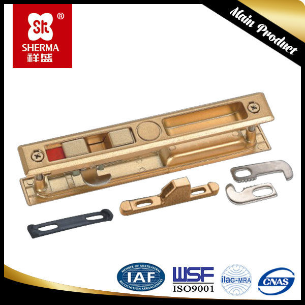 Aluminium accessories sliding window handle lock