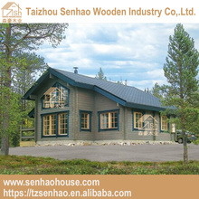 Canadian spruce/Russian Pine,Wooden,Log Material prefabricated holiday house