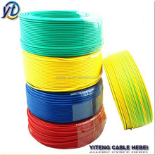 pvc insulation cable 1.5 mm 2.5 mm 4 mm 10 mm 16 mm 6 mm electric wire