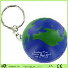 custom 3D pvc keychain wholesales,pvc earth ball keychain for kids,saving earth keychain