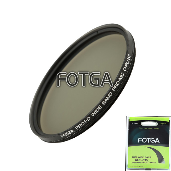 Fotga PRO1-D 77mm circular ultra slim MC multi-coated CPL polarizing camera lens filter