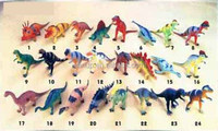 7-8 inch Pvc dinosaur ( 24 assorted)