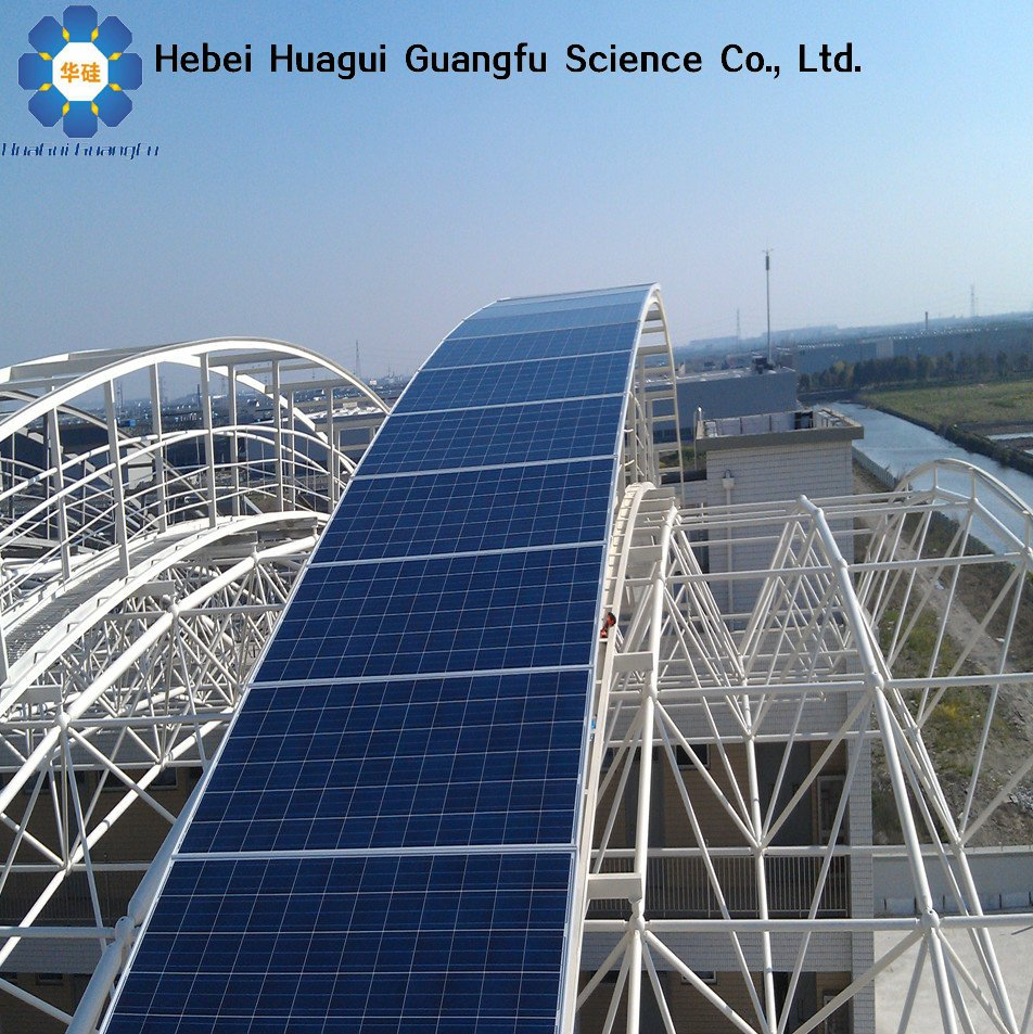 China Hebei HuaGui Mono or poly 1 kw solar panel
