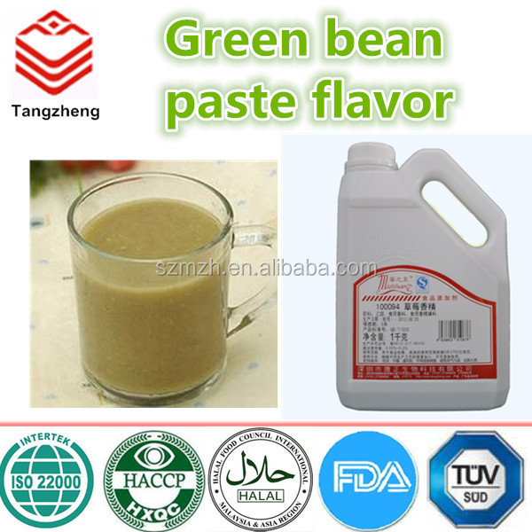 Food additives/flavor/ Sweet green Bean Paste Flavour with Oil/Water