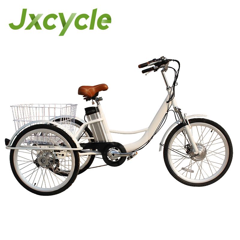 Lithium battery electric Adult Tricycle bike with 3 wheels classic