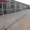 6ftX12ft Portable temporary construction chain link fence panel manufacture